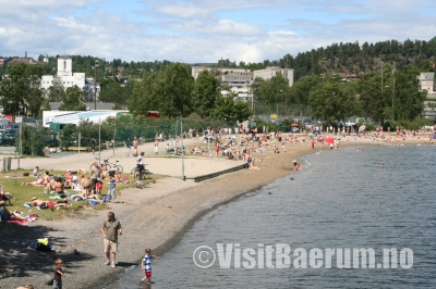 The Beach Promenade in Kadettangen, Sandvika.