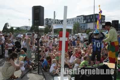 Scandic's neigborhood party in Fornebu